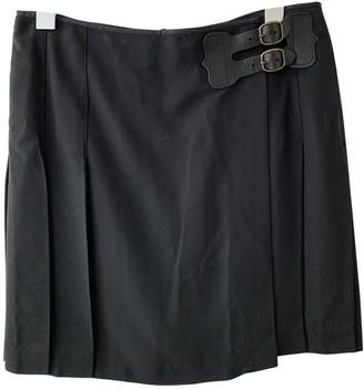 Polo Ralph Lauren Navy Silk Skirt for Women