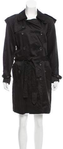 Robert Rodriguez Double-Breasted Belted Coat