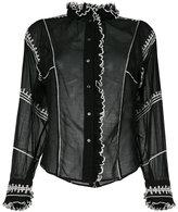 Etoile Isabel Marant ruffled trim shirt