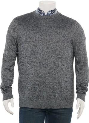 Croft & Barrow Big & Tall Easy-Care Crewneck Sweater