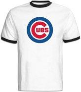 Sofia Chicago Cubs Baseball Team Logo T-shirts For Men XL