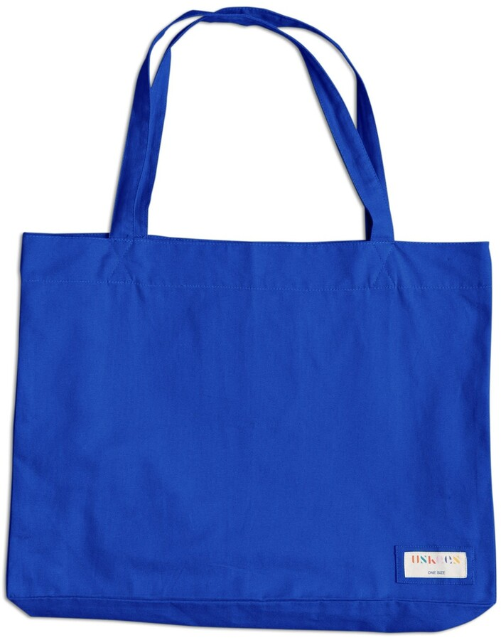 Thumbnail for your product : Uskees - The 4001 Large Organic Tote Bag - Ultra Blue