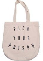 Vans Women's Rosette Pick Your Poison Canvas Shoulder Bag-Beige