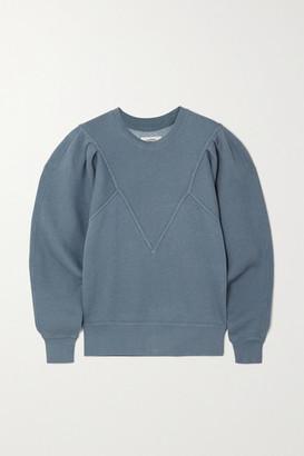 Etoile Isabel Marant Tadelia Cotton-blend Jersey Sweatshirt - Blue