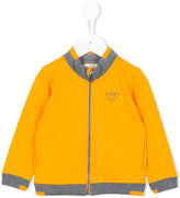 Armani Junior zipped jacket - kids - Cotton/Spandex/Elastane - 9 mth