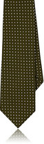 Alexander Olch MEN'S POLKA DOT COTTON NECKTIE