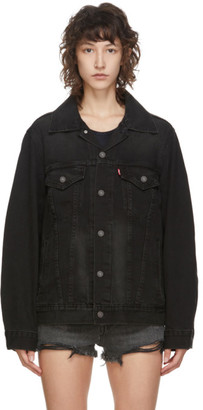 Levi's Levis Black Denim Trucker Jacket