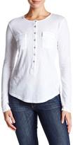 Velvet by Graham & Spencer Front Pocket Long Sleeve Shirt
