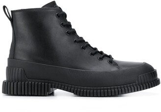 Camper Lace-Up Ankle Boots