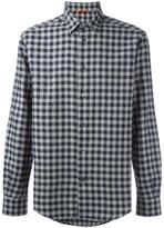 Barena gingham patterned shirt