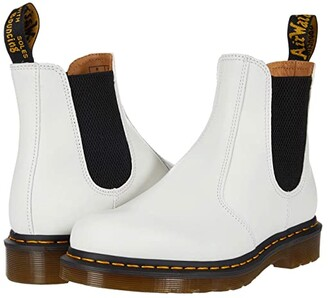 Dr. Martens 2976 YS (White Smooth) Shoes