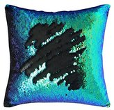 Mermaid Pillow Case, Play Tailor Magic Reversible Sequin Pillow Cover Throw Cushion Case 40x40CM