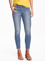 Old Navy Mid-Rise Super Skinny Ankle Jeans