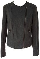Catherine Malandrino Women's Blazer Jacket Dark Gray (XXL)