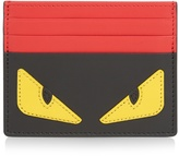 Fendi Bag Bugs leather cardholder