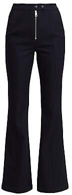 A.L.C. Women's Ray Front-Zip Flare Pants