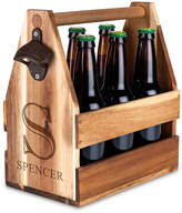 Personalized Wood Beer Caddy