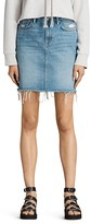 AllSaints Kim Denim Mini Skirt