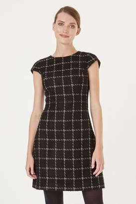 Hobbs Womens Black Ashley Dress - Black