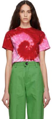 Kwaidan Editions SSENSE Exclusive Pink Tie-Dye T-Shirt