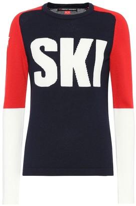 Perfect Moment Ski merino wool sweater