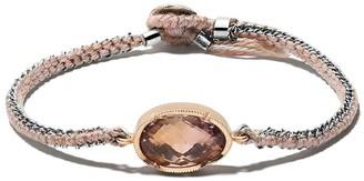 Brooke Gregson 14kt Gold Handwoven Bracelet