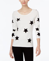 INC International Concepts Star-Print Sweater, Only at Macy's