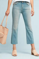 Current/Elliott Kick High-Rise Cropped Boot Jeans
