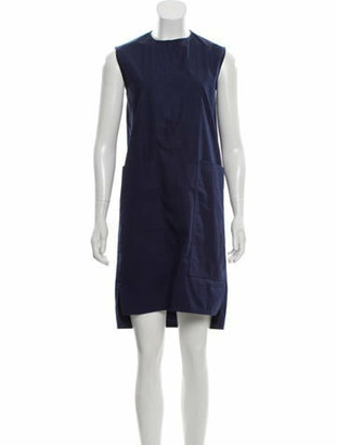 Celine Sleeveless Shift Dress