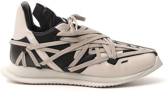 Rick Owens Lace Construction Sneakers