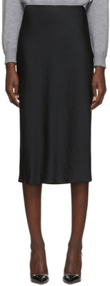 Alexander Wang Black Wash and Go Skirt