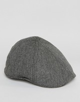 Goorin Bushwick Flat Cap In Black