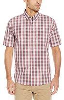 Wrangler Authentics Men's Big & Tall Short-Sleeve Plaid Woven Shirt