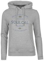 Soul Cal SoulCal Womens Deluxe Hoody OTH Hoodie Long Sleeve Casual Jersey Hooded Top
