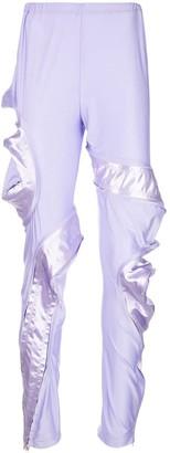 Comme des Garcons asymmetric zipped trousers