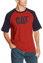 Caterpillar Men's Raglan Trademark T-Shirt