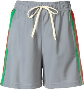 Gucci Web stripe detail shorts
