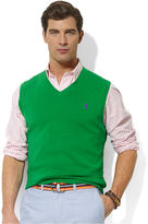 Polo Ralph Lauren Big and Tall Vest, V Neck Sweater Vest