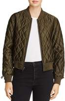 Pam & Gela Quilted Bomber Jacket