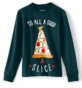 Classic Toddler Boys Long Sleeve Graphic Tee-Pizza Tree