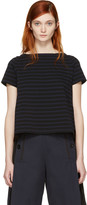 Sacai Black Striped Dixie T-Shirt