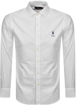 Ralph Lauren Oxford Long Sleeve Shirt White