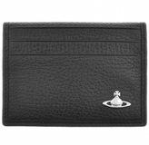 Vivienne Westwood Bifold Leather Card Holder Black