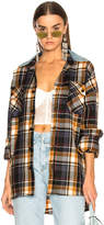 Fear Of God Oversized Flannel Button Down Shirt