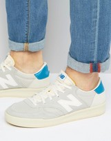 New Balance Classic Court Trainers In Off-white Crt300ag