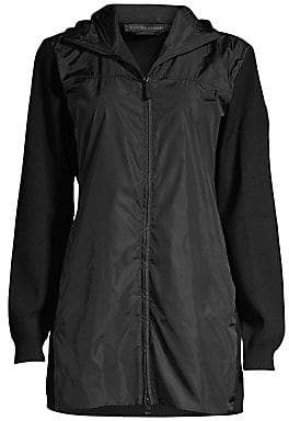 Canada Goose Women's Windbridge Hooded Merino Wool Jacket