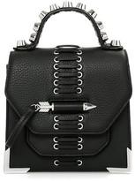 Mackage Rubie-L Leather Crossbody In Black