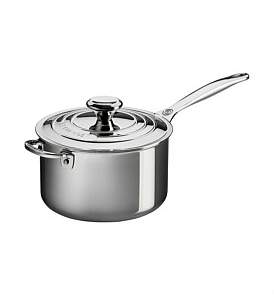 Le Creuset Signature 3Ply Stainless Steel Saucepan 20Cm