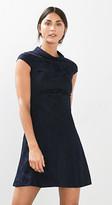 Esprit Floral jacquard dress