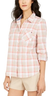 Tommy Hilfiger Plaid Utility Shirt